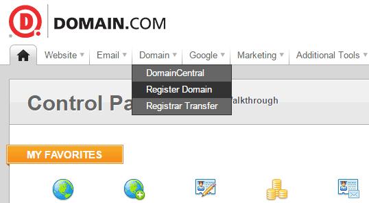 buy domain at domain.com