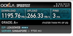 leaseweb 新加坡